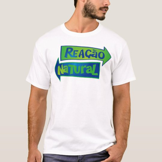 Camiseta Logo Oficial REAÇÃO NATURAL