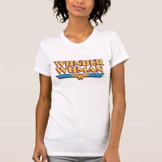 Camiseta Logotipo 2 da mulher maravilha