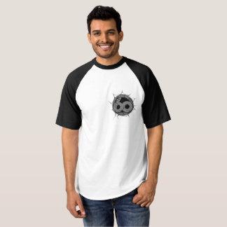 Camiseta logotipo 60s ascendente rachado