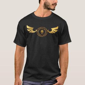 Camiseta Logotipo/asas do TPS-Ouro