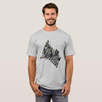 Camiseta Logotipo australiano do crocodilo e Croc, t-shirt