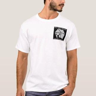 Camiseta LOGOTIPO B&W da barraca de Fred FATT