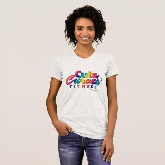 Camiseta Logotipo colorido americano de JerseyT CCF do