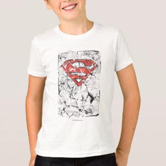 Camiseta Logotipo cómico amarrotado | estilizado do