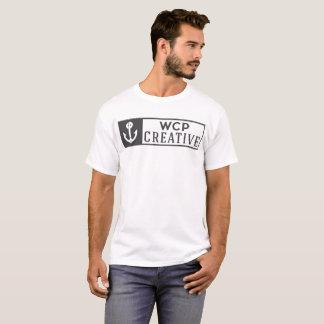 Camiseta Logotipo completo criativo de WCP