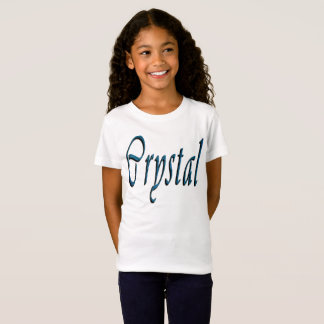 Camiseta Logotipo conhecido das meninas de cristal,