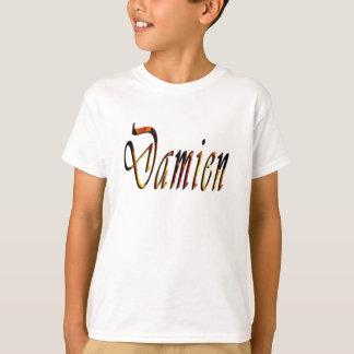 Camiseta Logotipo conhecido de Damien,