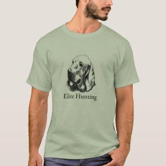 Camiseta Logotipo da caça da elite da pensão