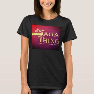 Camiseta Logotipo da coisa da saga