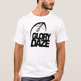 Camiseta Logotipo da equipe do Daze da glória (preto &