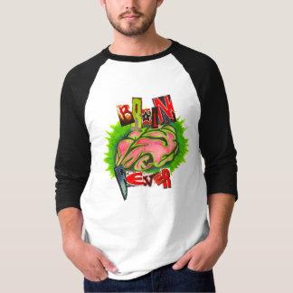 Camiseta Logotipo da febre de cérebro