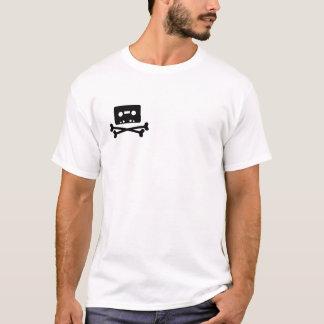 Camiseta Logotipo da fita de pirata - personalizado