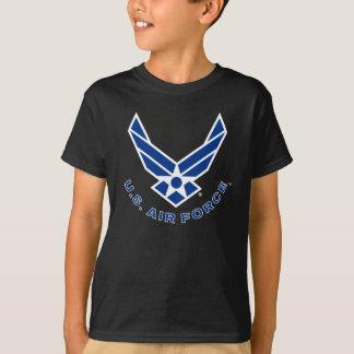 Camiseta Logotipo da força aérea - azul