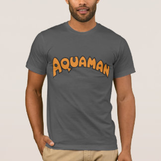 Camiseta Logotipo da laranja de Aquaman