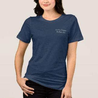 """Camiseta Logotipo da menina do sul"""" da árvore do Palmetto"""