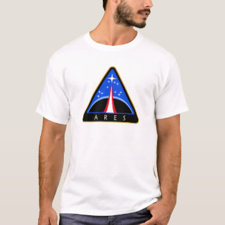 Camiseta Logotipo da NASA Ares Rocket