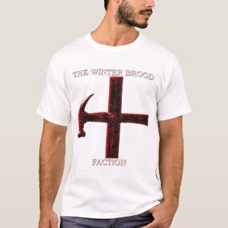 Camiseta Logotipo da ninhada do inverno - fundo branco
