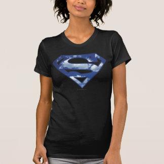Camiseta Logotipo da nuvem de Supergirl