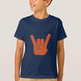 Camiseta Logotipo da oxidação de Rocksign