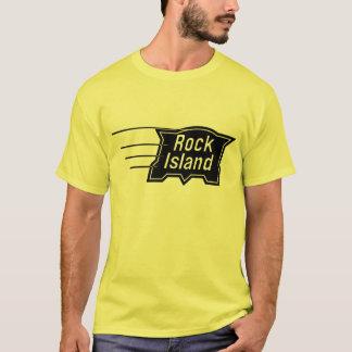 Camiseta Logotipo da velocidade da estrada de ferro da ilha