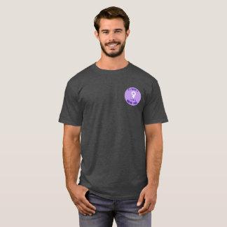 Camiseta Logotipo das meninas do nerd do apoio do T dos