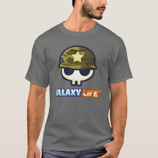 Camiseta Logotipo de Alliance da milícia da vida da