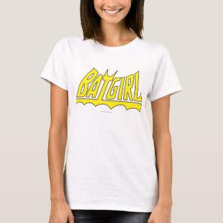 Camiseta Logotipo de Batgirl