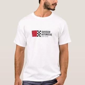 Camiseta Logotipo de competência moderno da bandeira no