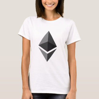 Camiseta Logotipo de Ethereum somente