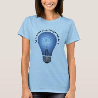Camiseta Logotipo de LFS no T azul da boneca das senhoras
