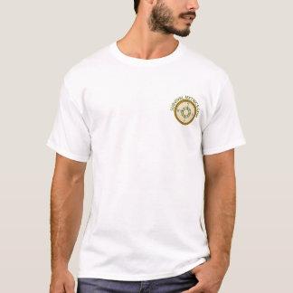 Camiseta Logotipo de Metrics.com da sobrevivência