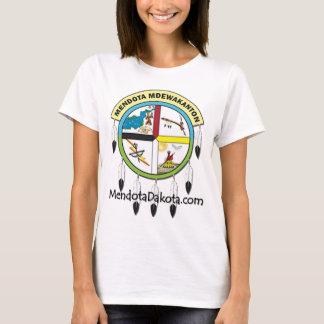 Camiseta Logotipo de MMDC com Web site