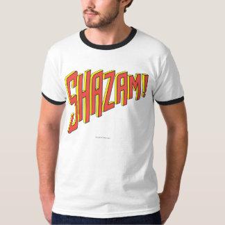 Camiseta Logotipo de Shazam vermelho/amarelo