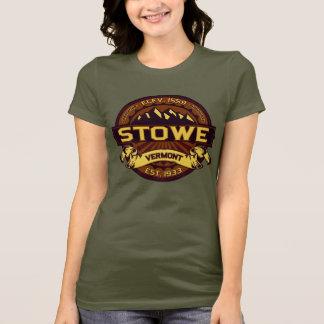 Camiseta Logotipo de Stowe vibrante