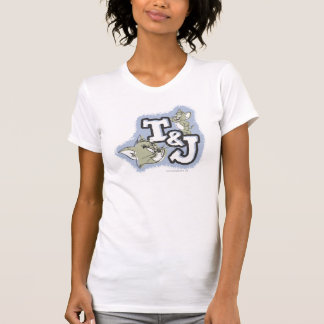Camiseta Logotipo de Tom e de Jerry T&J