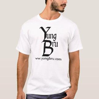 Camiseta Logotipo de Yung Bru com Web site