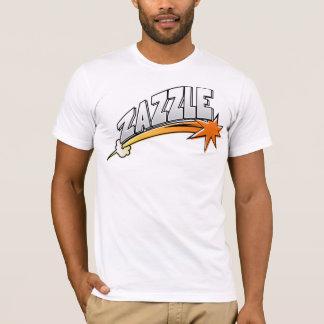 Camiseta Logotipo de Zazzle (estilo dos desenhos animados)