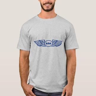 Camiseta Logotipo do ASA Blue Wings