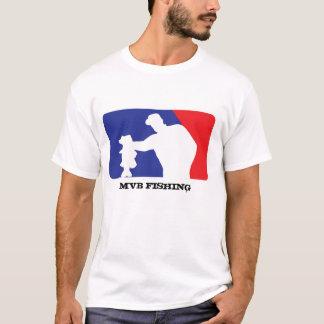 Camiseta Logotipo do basebol para a pesca da perda