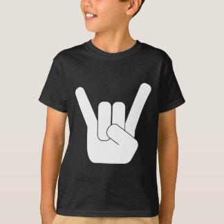 Camiseta Logotipo do branco de RockSign