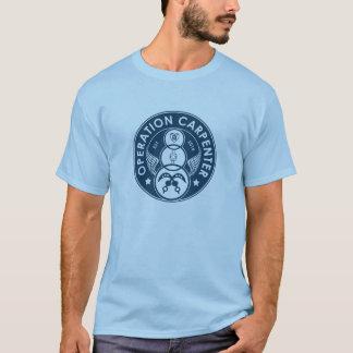 Camiseta Logotipo do carpinteiro da operação - homens