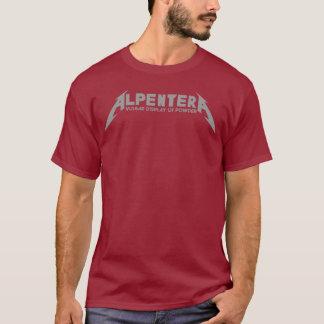Camiseta Logotipo do cinza de Alpentera!