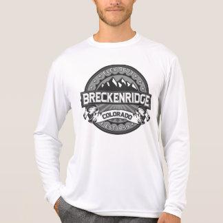Camiseta Logotipo do cinza de Breckenridge