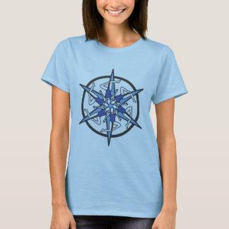 Camiseta Logotipo do círculo da natação sincronizada no