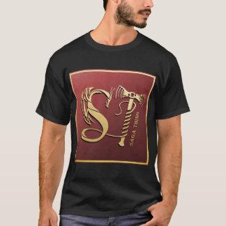 Camiseta Logotipo do dragão e do martelo da coisa da saga