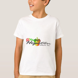 Camiseta Logotipo do estilo do rei Hopeton Jamaicano