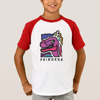 Camiseta Logotipo do filme de Prinsesa - miúdos