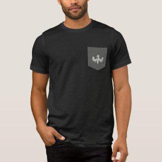 Camiseta Logotipo do grifo do T do bolso de Jay Niani -