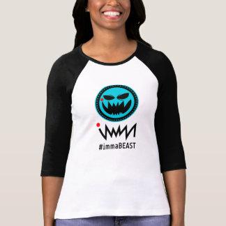 Camiseta logotipo do immaBEAST