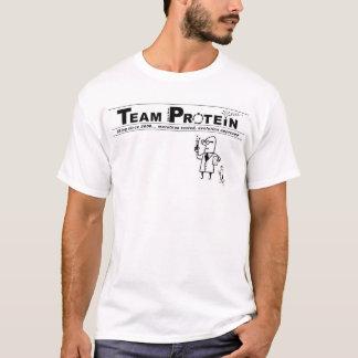 Camiseta Logotipo do laboratório do monte/proteína da